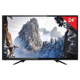 Телевизор ERISSON 24LEK80T2, 24'' (60 см), 1366х768, HD, 16:9, черный