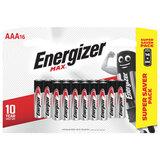 Батарейки КОМПЛЕКТ 16 шт., ENERGIZER Max, AAA (LR03,24А), алкалиновые, мизинчиковые, E301433301