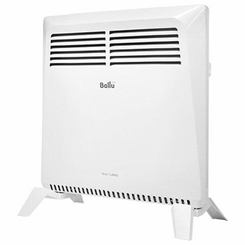 Обогреватель-конвектор BALLU BEC/SMT-1000, 1000 Вт, механическое управление, напольная установка, белый