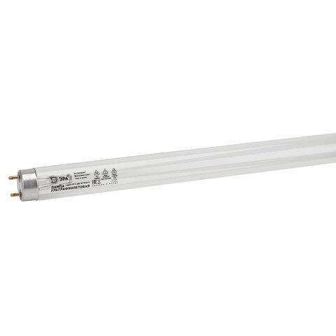 Лампа БАКТЕРИЦИДНАЯ ультрафиолетовая ЭРА UV-С, 30 Вт, G13, трубка 90 см, 48973, Б0048973