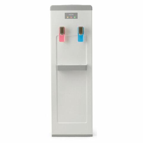 Кулер для воды VATTEN V08WK, напольный, НАГРЕВ/ОХЛАЖДЕНИЕ КОМПРЕССОРНОЕ, 2 крана, белый, 6759