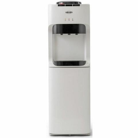 Кулер для воды VATTEN V45WKB, напольный, НАГРЕВ/ОХЛАЖДЕНИЕ КОМПРЕССОРНОЕ, 3 крана, холодильник, белый, 4928