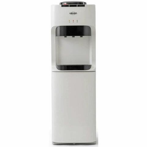 Кулер для воды VATTEN V45WK, напольный, НАГРЕВ/ОХЛАЖДЕНИЕ КОМПРЕССОРНОЕ, 3 крана, белый, 4924