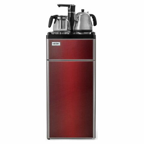 Кулер водонагреватель с чайником БЕЗ ОХЛАЖДЕНИЯ, VATTEN L50RFAT Tea Bar, напольный, шкаф, 1 кран, 5729