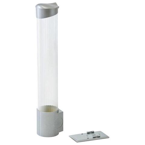 Стаканодержатель VATTEN CD-V70MS, 100 стаканов, на магните, серебро, 4651
