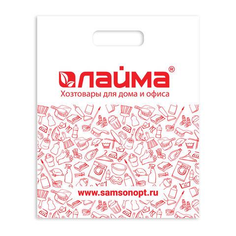 Пакет полиэтиленовый ЛАЙМА, ООТ, 2016, 502595