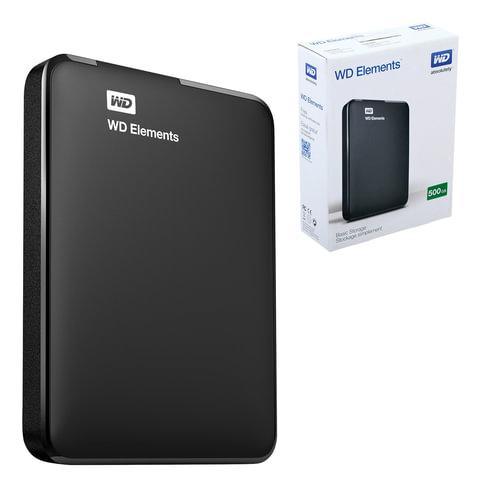Внешний жесткий диск WD Elements Portable 500GB, 2.5