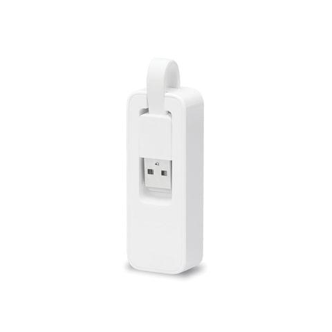 Сетевой адаптер TP-LINK UE200, USB 2.0, 100 Мбит, компактный корпус, для ультрабуков и макбуков