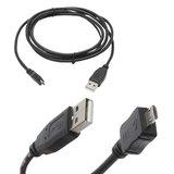 Кабель USB-microUSB 2.0, 1,8 м SVEN, для подключения портативных устройств и периферии, черный, SV-004606