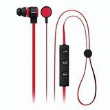 Наушники с микрофоном (гарнитура) SVEN SEB-B270MV, Bluetooth, беспроводые, черные с красным, SV-013240