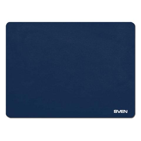 Коврик для мыши SVEN HC-01-01, микрофибра + резина, 300х225х1,5 мм, синий, SV-011963