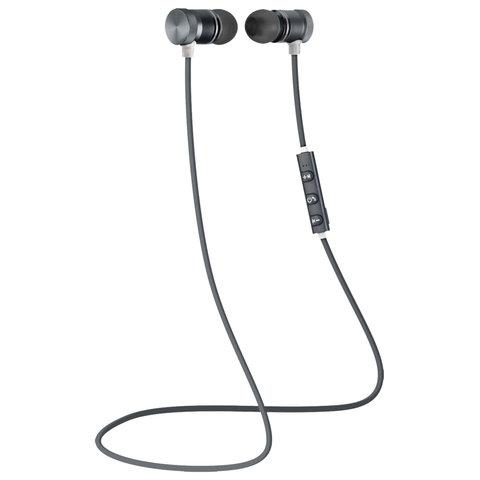 Наушники с микрофоном (гарнитура) DEFENDER OUTFIT B710, Bluetooth, беспроводные, черные с белым, 63710