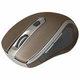Мышь беспроводная DEFENDER Safari MM-675, USB, 5-кнопок+1 колесо-кнопка, оптическая, коричневая, 52678