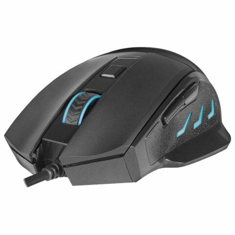Мышь проводная игровая REDRAGON Phaser, USB, 5 кнопок+1 колесо-кнопка, оптическая, черная, 75169