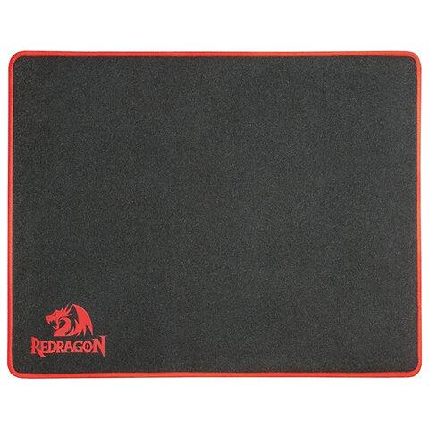 Коврик для мыши игровой REDRAGON Archelon L, ткань+резина, 400х300х3 мм, черный, 70338