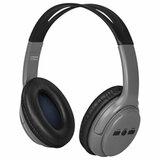 Наушники с микрофоном (гарнитура) DEFENDER FreeMotion B520, Bluetooth, беспроводные, с оголовьем, серые, 63520