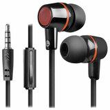 Наушники с микрофоном (гарнитура) вкладыши DEFENDER Pulse 428, проводные, 1,2 м, вкладыши, черные, 63428