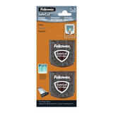 Ножи FELLOWES, набор 2 шт., для резаков NEUTRON, ELECTRON, PROTON, прямая резка, FS-5411401