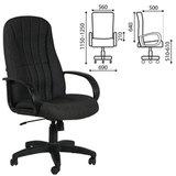 """Кресло офисное """"Классик"""", СН 685, черное, 1118298"""