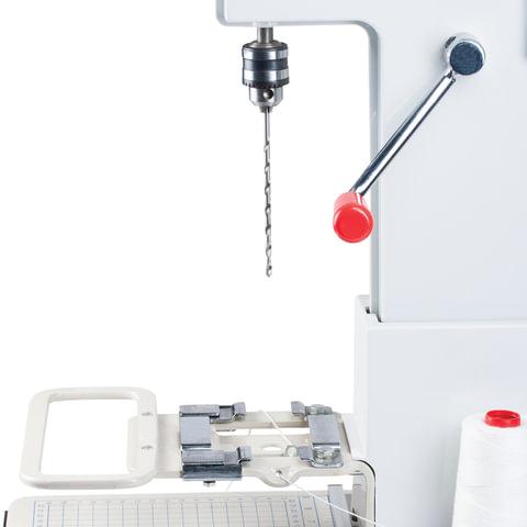 Станок для архивного переплета YUNGER M268 (Юнгер), 250 Вт, с лотком, сшивка до 100 мм (950 листов), 530965