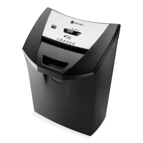 Уничтожитель (шредер) REXEL DELUXE CC175 (США), для 1-2 человек, 3 уровень секретности, 4x45 мм, 8 листов, 22 л, скобы, карты, 2101832
