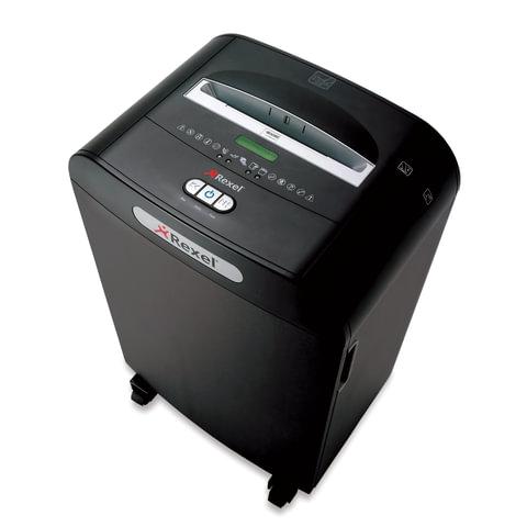 Уничтожитель (шредер) REXEL RDM1170 (США), для 10-20 человек, 5 уровень секретности, 1,9x15 мм, 11 листов, 70 л, скобы, скрепки, 2102565EU