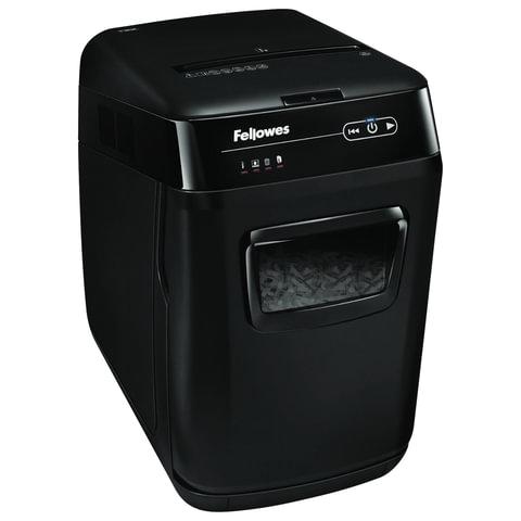 Уничтожитель (шредер) FELLOWES AutoMax 130C, для 3-5 человек, автоподача, 3 уровень секретности, 4x51 мм, 130 листов, 32 л, FS-4680101