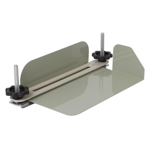 Струбцина-лоток для архивного переплета документов формата А4, металл, до 100 мм (950 л.), 531083