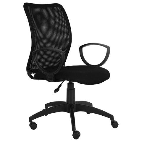 Кресло CH-599AXSN, с подлокотниками, черное, CH-599AXSN/TW-1