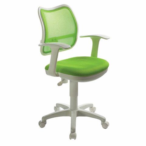 Кресло CH-W797/SD с подлокотниками, светло-зеленое, CH-W797/SD/TW-1