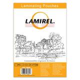 Пленки-заготовки для ламинирования LAMIREL, комплект 100 шт., для формата А4, 100 мкм, LA-78658