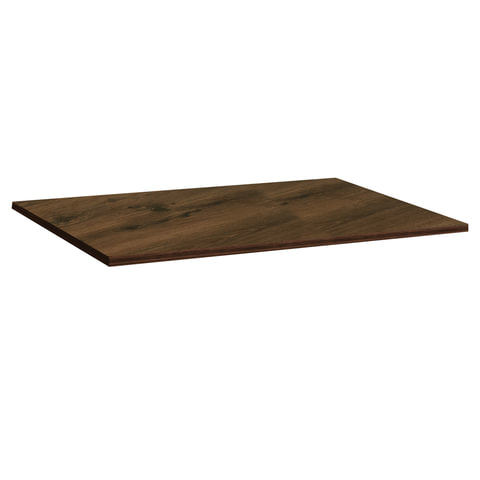 Столешница к столу для столовых 1200х800 мм, Corund 2023, ОСОБО ПРОЧНЫЙ ПЛАСТИК, орех американский, СТЛ2-1010