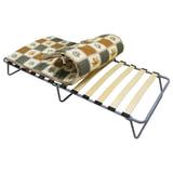 """Кровать раскладная (раскладушка), 1900х800х350 мм, на ламелях, с матрацем 50 мм, """"Камилла"""", ARNO, КР-12"""