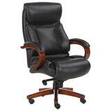 """Кресло офисное BRABIX PREMIUM """"Infinity EX-707"""", дерево, натуральная кожа, черное, 531826"""