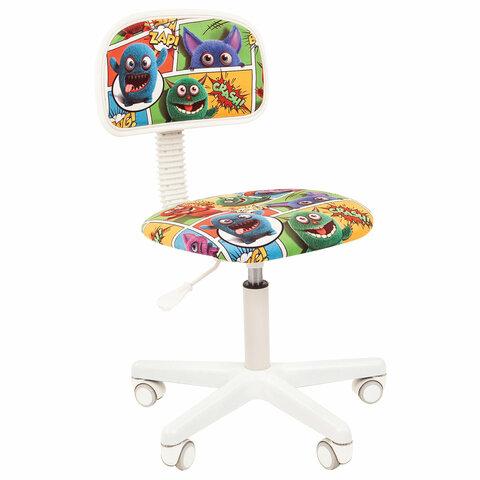 Кресло детское СН KIDS 101, без подлокотников, цветное с рисунком