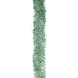 "Гирлянда ""Норка 2"", 1 штука, диаметр 70 мм, длина 2 м, серебро с зелеными кончиками, Г-207/7"