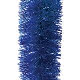 Мишура 1 штука, диаметр 100 мм, длина 2 м, синяя, 5-180-10