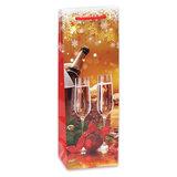 """Пакет подарочный 12х36х8,5 см (Bottle), """"Яркий праздник"""", ламинированный, ПКП-2853"""