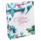 """Пакет подарочный 26,4x32,7x8 см, """"С Новым Годом!"""", ламинированный, ПКП-8871"""