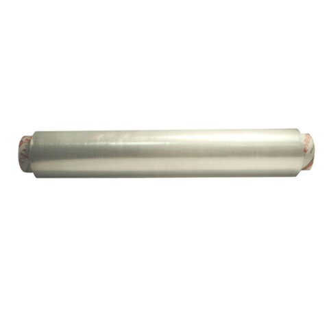 Пленка пищевая ПЭ, 450 мм х 200 м, белая, 6 мкм, 210-006