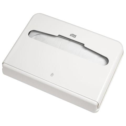 Диспенсер для покрытий на унитаз TORK (Система V1), покрытия 1/2 сложения, белый, 344080