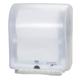 Диспенсер для полотенец TORK в рулонах шириной 24,7 см, сенсорный, батарейка R20, белый, полотенце 124561, АРТ. 471172
