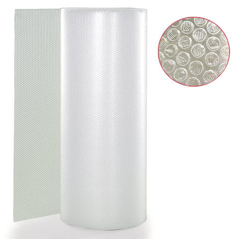 Пленка воздушно-пузырчатая 2-х слойная (ширина 1,2 м, длина 100 м), плотность 75 г/кв.м
