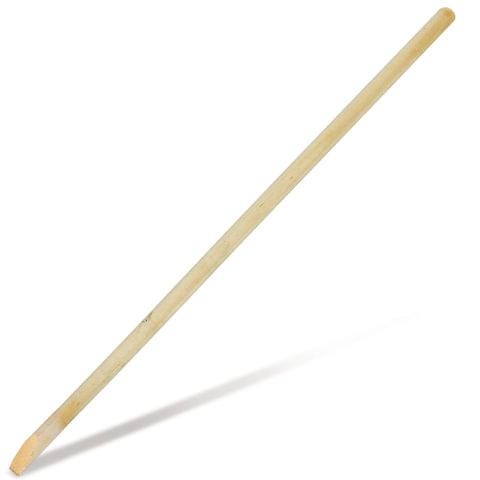 Черенок для лопат, диаметр 40 мм, длина 120 см, деревянный, СН000425
