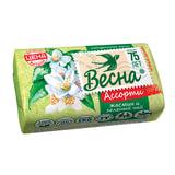 """Мыло туалетное 90 г ВЕСНА """"Жасмин и зелёный чай"""", ГОСТ, 6084"""