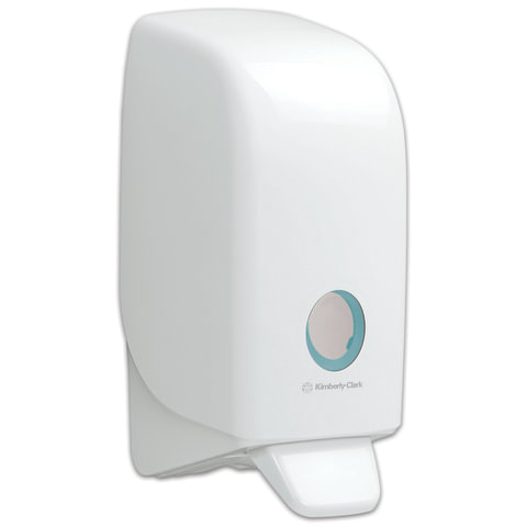 Диспенсер для жидкого мыла KIMBERLY-CLARK Aquarius, белый, 1 л, картридж 601538, 601539, АРТ. 6948