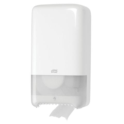 Диспенсер для туалетной бумаги TORK (Система T6) Elevation, midi, белый, 557500