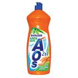 "Средство для мытья посуды 1 л, AOS ""Бальзам Алоэ Вера"", 502-3"