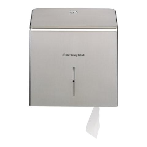 Диспенсер для туалетной бумаги KIMBERLY-CLARK, Мини Jumbo, нержавеющая сталь, бумага 126127, АРТ. 8974