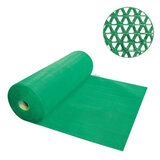 """Коврик входной противоскользящий VORTEX """"Zig-Zag"""", 90х1000 см, толщина 5 мм, ПВХ, зеленый, 22155"""